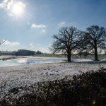 Winter an der Kossau bei Rantzau