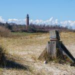 Blick auf den Behrensdorfer Leuchtturm